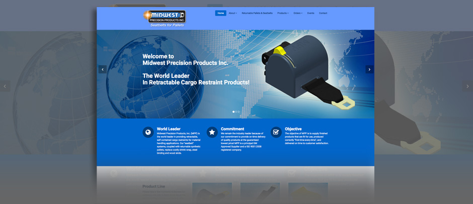 Midwest Precision - Website